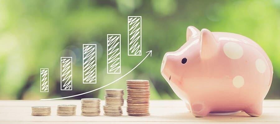 etänk att varje krona man sparar och investerar korrekt är ett steg i rätt riktning till rikedom